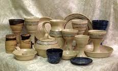 travel communion set communion pottery thrown stoneware communion sets christian