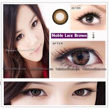 eos lace brown colored contacts pair lace br 14 99