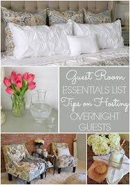 guests room guest room essentials list tips for hosting overnight guests home
