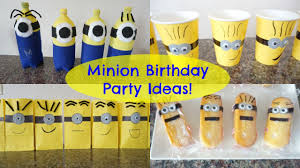 minions party supplies minion birthday party ideas