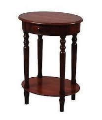 wood end tables ebay