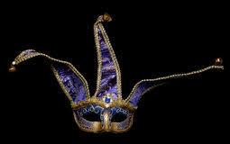 jester masquerade mask blue jester masquerade mask stock photos image 18856683