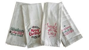 christmas towels christmas tea towel my vinyl direct