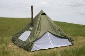 new 12x12ft outfitter spike wall tent for hunting and camping