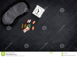 sleep mask light alarm combat insomnia sleeping pills near sleep mask and alarm clock on