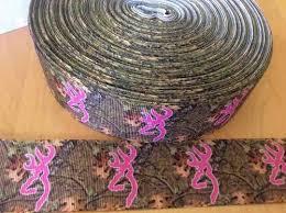 realtree ribbon camo grosgrain ribbon 1 5 pink camo camouflage ribbon