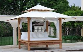 outdoor daybed with canopy home design by fuller