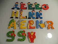 buchstaben kinderzimmer kinderzimmer aus holz mit buchstaben form ebay