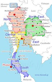 Thailand Map In World Map by Weather Today In Thailand Thaismile Jp