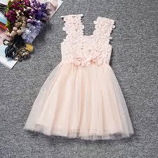 robe bebe mariage mignon été fleurs fille fête de mariage solide princesse robe