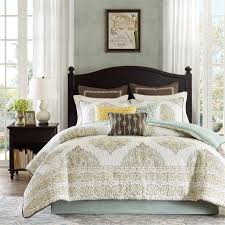 California King Comforter Set Amazon Com Harbor House Miramar 4 Piece Comforter Set King