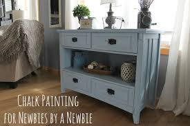 chalk painting for newbies by a newbie what rose knows