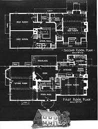 historic revival house plans mr blanding s house and second floor plans would