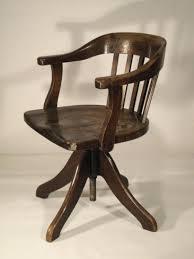 chaise de bureau en bois à fauteuil fauteuil bureau bois de tournant fauteuil bureau bois