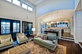 Stairs Give Definition To Room In Open Floor Plan New Home Ideas - Family room definition