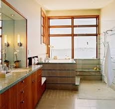 corner tub shower combo bathroom modern with basket bath faucet corner tub shower combo bathroom contemporary with clear glass shower curbless shower gray stone