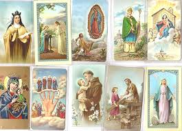 prayer cards holy cards prayer cards from italy free luminous rosaries