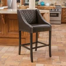 leather counter height 23 28 in bar u0026 counter stools shop