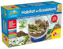 si e habitat lisciani giochi 56330 piccolo genio habitat ed ecosistemi amazon