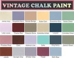 64 best chalk paint brands colour palettes and diy recipes