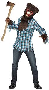 scary costume scary teddy costume for adults buycostumes