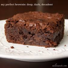 Ina Garten Brownies My Perfect Brownie Deep Dark Decadent Mili U0027s Sweets