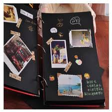 sticky photo album aliexpress buy heart diy photo album wedding photos