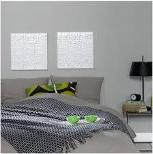 chambre gris vert tendance déco chambre grise blanche et vert