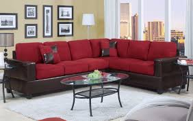 Living Room Sectionals With Chaise Living Room Elegant Microsuede Sectional For Comfortable Living