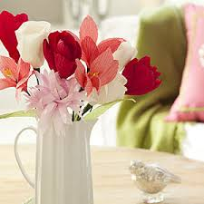 crepe paper flowers how to make crepe paper flowers flower crafts allyou