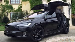 suv tesla tesla model x signature edition p90d black out youtube