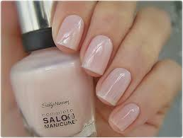 sally hansen shell we dance swatched on nail stick 2
