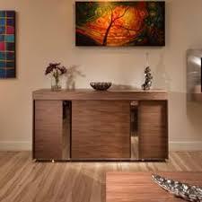 Avant Garde Design Studios Modern Large Walnut Sideboardcabinet - Dining room sideboard
