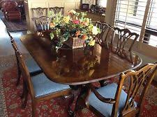 drexel heritage dining table drexel heritage dining room table 6 chairs ebay