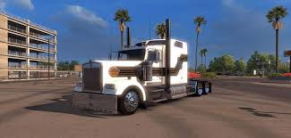 custom kenworth trucks kenworth w900 black gold custom skin racedepartment