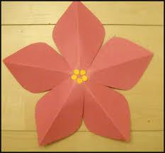 paper crafts poinsettia paper craft spring summer crafts