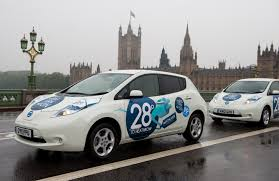 nissan leaf zero emission uk leads the world for nissan electric taxi sales nissan insider