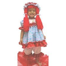 Rag Doll Halloween Costumes Childs Deluxe Rag Doll Costume Costumeish U2013 Cheap
