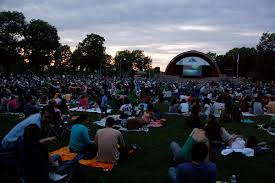 free outdoor movie series in boston summer 2015