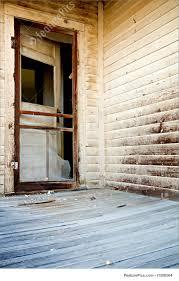 door of haunted house image