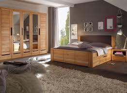 Schlafzimmer Komplett Mit Bett 140x200 Charles Doppelbett 180x200 Kernbuche Teilmassiv