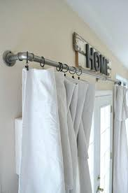 how to hang curtains curtain curtain rod placement should curtains touch the floor