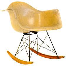 Eames Fiberglass Rocking Chair Extreme Rare Edge Eames Rocker 1st Experimental Base For
