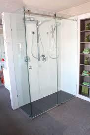 semi frameless shower screen 900 x 900 installed bathroom 10mm frameless opto sliding shower screen 1500 x 900mm