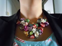 necklace flower handmade images Handmade flower necklace necklace wallpaper jpg