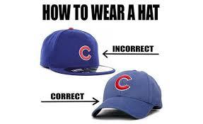 Meme Hats - the insane holy war over flat brims in major league baseball