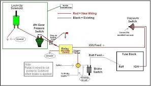 200r4 lock up wiring basics chevelle tech