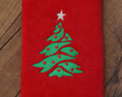 christmas towels christmas towel etsy