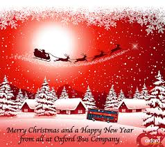 merry christmas happy oxford bus company