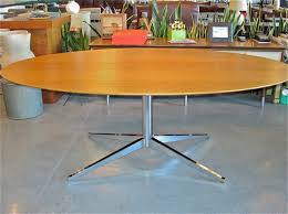 Knoll Dining Table by Metro Modern Florence Knoll Oak Dining Desk Table